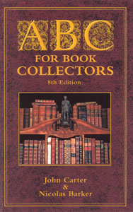 Cover of ABC for Book Collectors